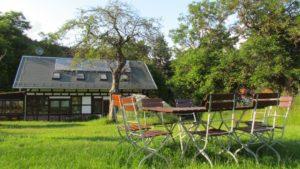 Gaststätte Pension Biergarten Vorwerk Altenroth Thüringer Meer Stausee Hohenwarte Beer garden 12