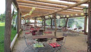 Gaststätte Pension Biergarten Vorwerk Altenroth Thüringer Meer Stausee Hohenwarte Beer garden 6